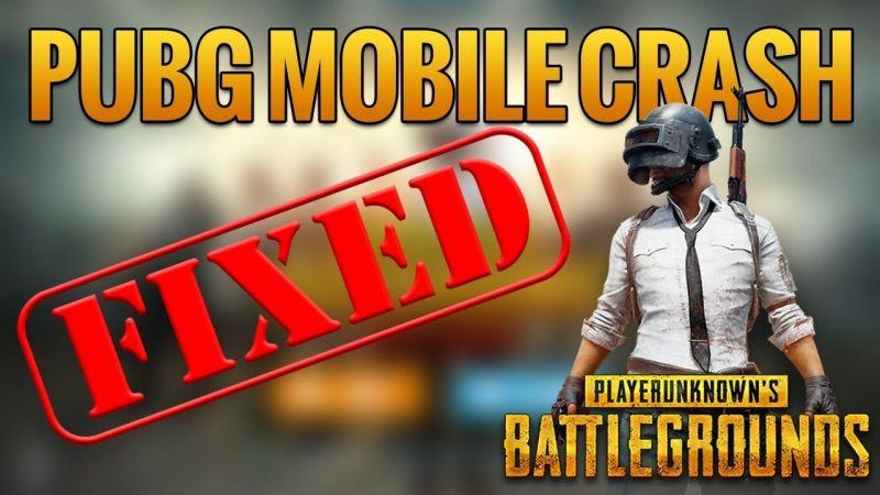 PUBG Mobile Crashing