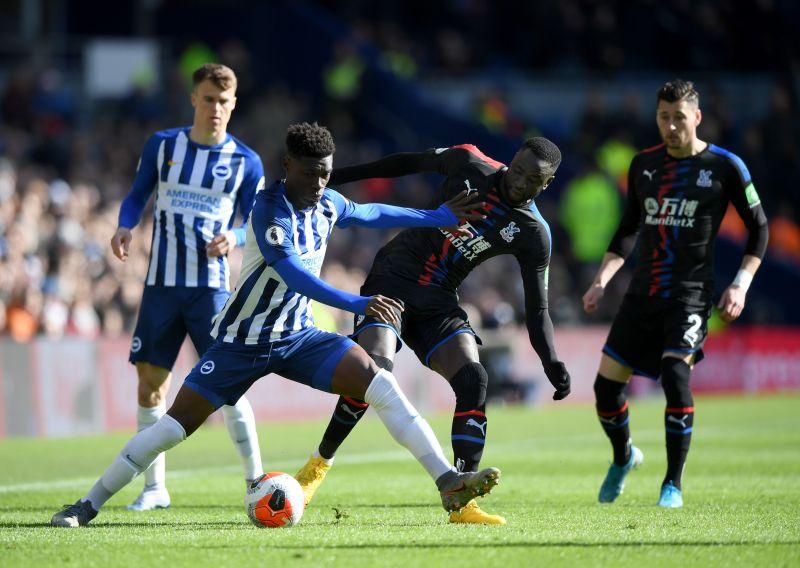 Brighton & Hove Albion in a Premier League match