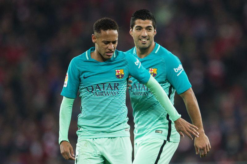 Neymar and Suárez