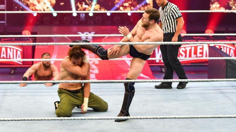Sami Zayn defeated Daniel Bryan at WrestleMania 36