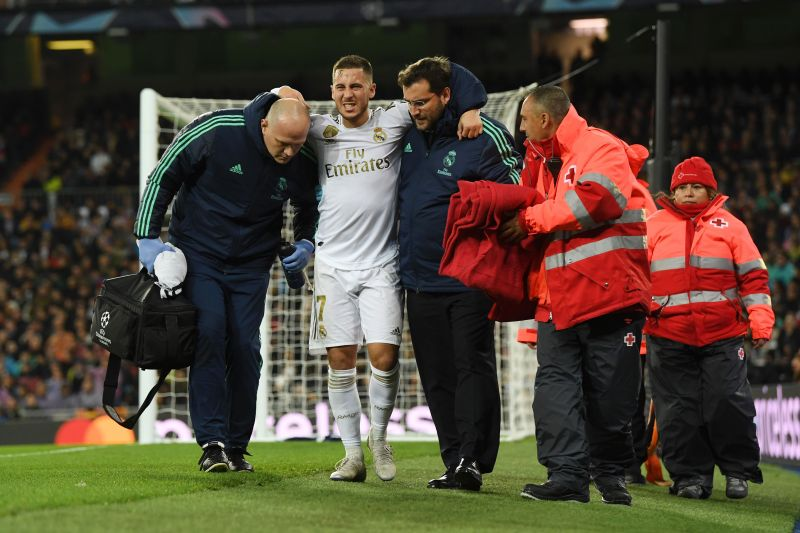 The injury he picked up against PSG has ruled him out of the season