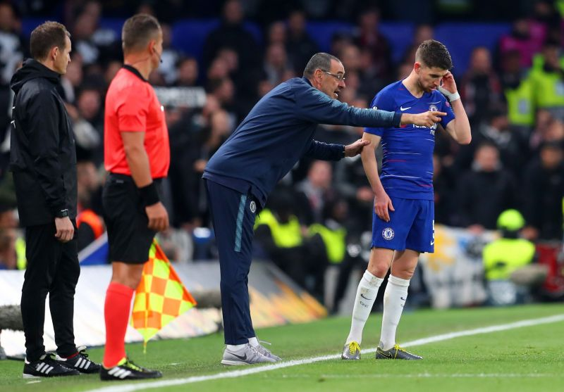 Jorginho and Sarri shared an excellent relationship