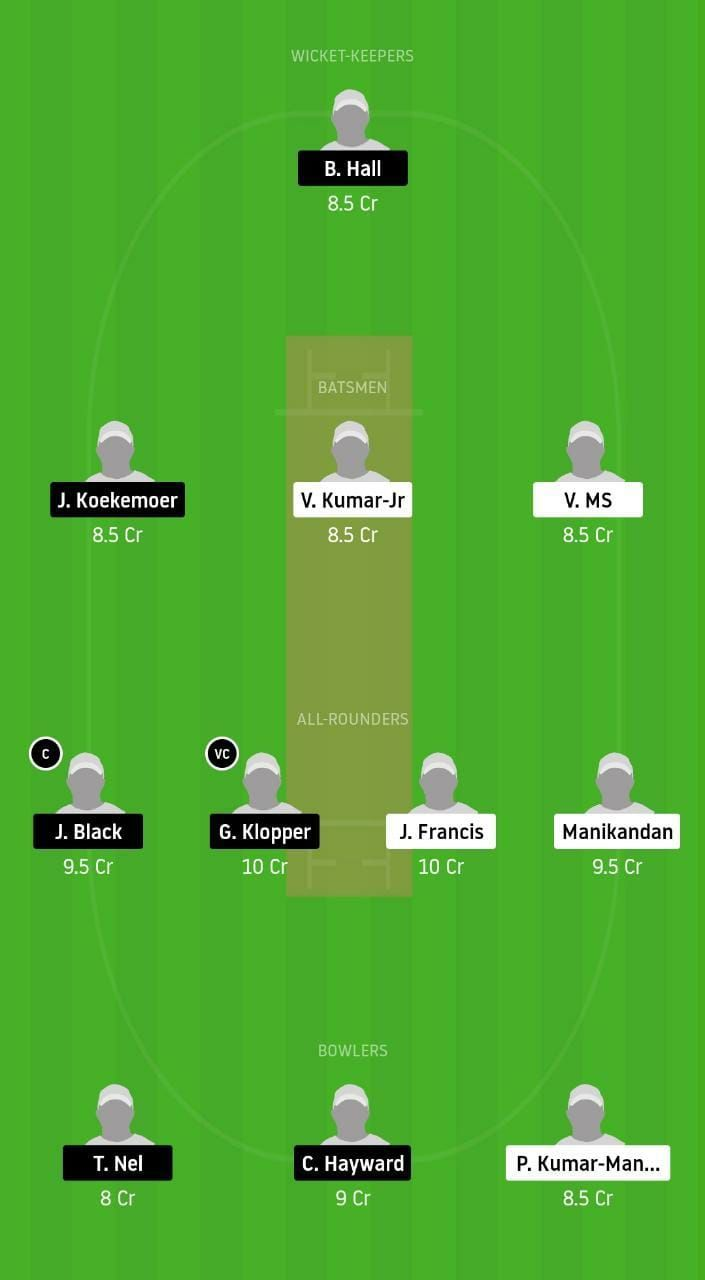 HST v TDR Dream11 Tips