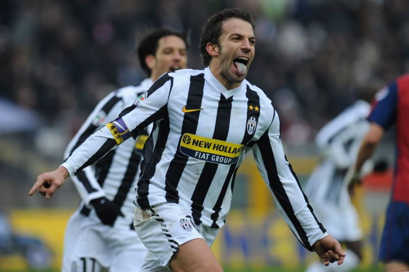Despite his success with Juventus and Italy, Alessandro Del Piero never finished in the top 3