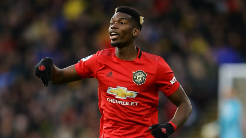 Paul Pogba Watford FC v Manchester United Premier League 12222019