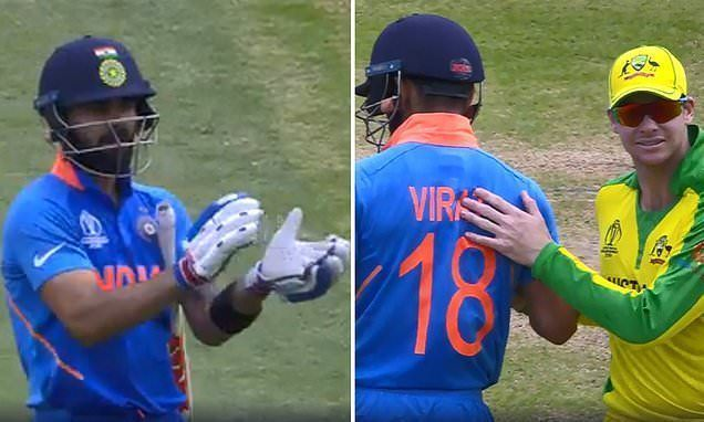 Virat Kohli and Steve Smith exhibited true sportsmanship on the field in the CWC last year