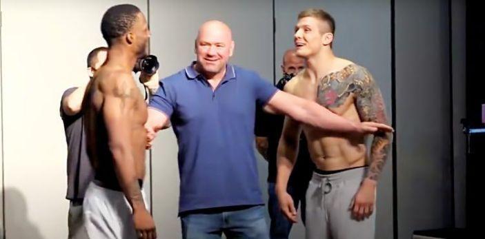 UFC Fight Night Jacksonville weigh-ins (image courtesy - yahoo.com)
