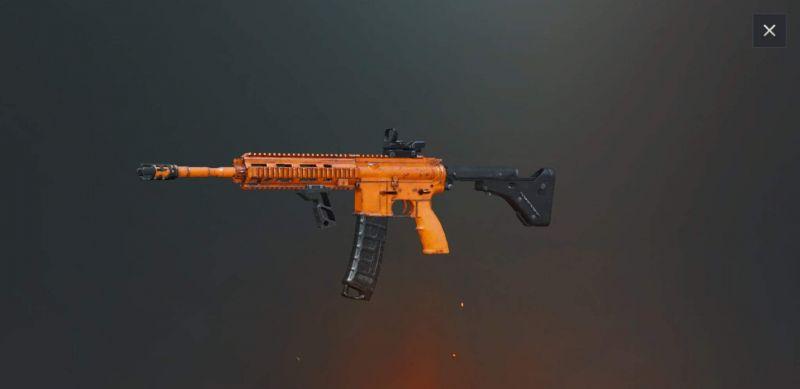M416 Free Skin in PUBG Mobile