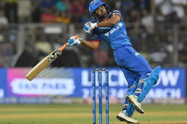 Rishabh Pant has the best batting strike rate of any Delhi Capitals player.