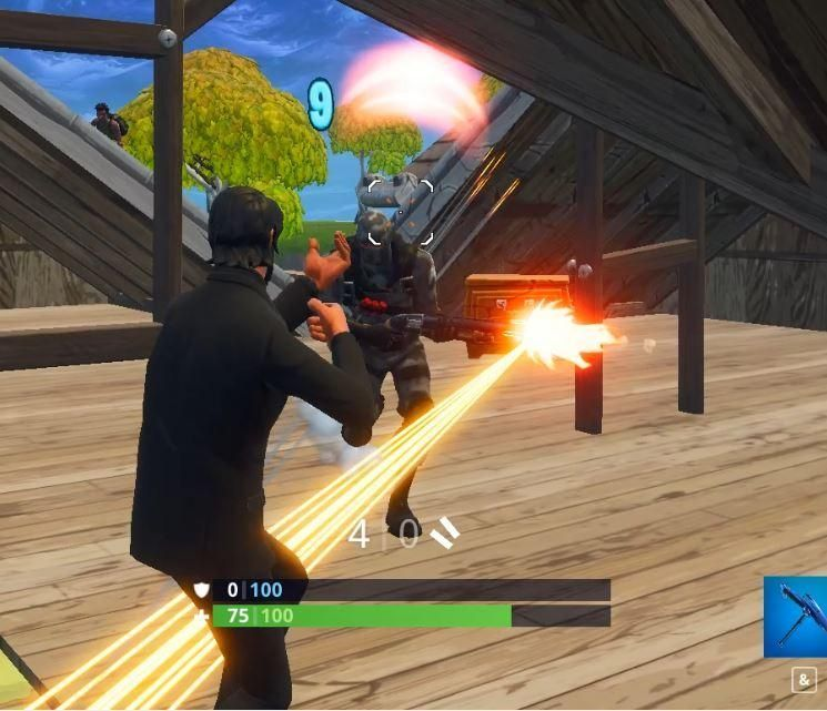 Fortnite Pump Shotguns are known to have inconsistent damage rates (Image Credit: u/yluom)