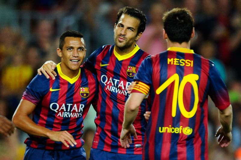 Fabregas and Sanchez were criticized after Barcelona