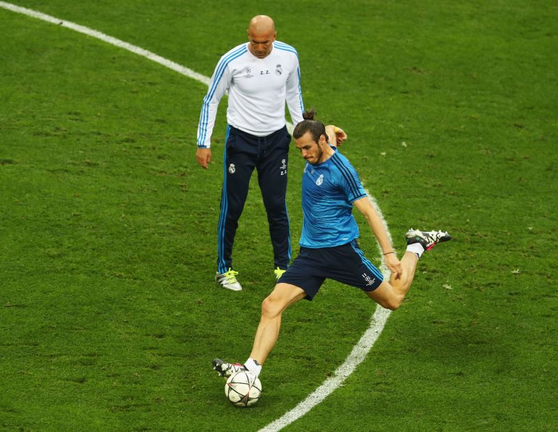 Bale and Zidane share a problematic relationship