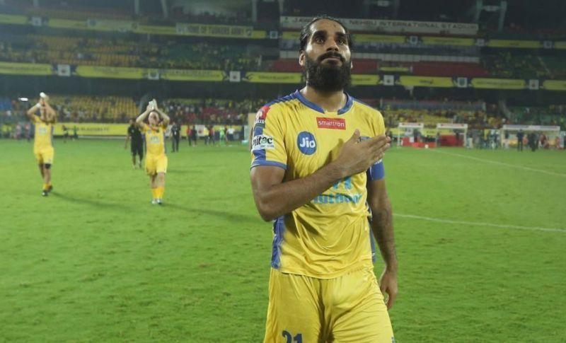 Sandesh Jhingan could be on his way to ATK-Mohun Bagan or Mumbai City FC