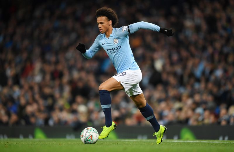Leroy Sane is expected to move to Bayern Munich this summer