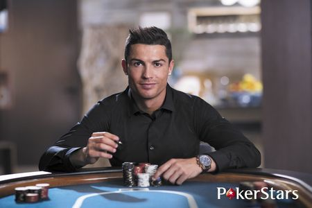 Cristiano Ronaldo signed a deal with PokerStars in 2015.