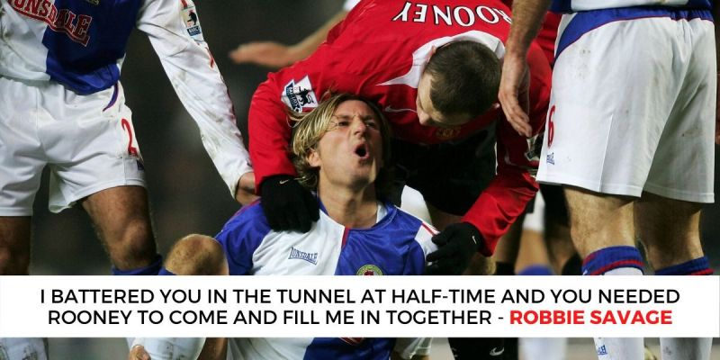 Robbie Savage and Rio Ferdinand look back on the ill-tempered incident.