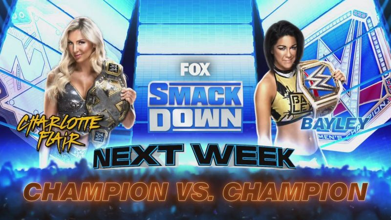 Which champion will reign supreme on SmackDown?