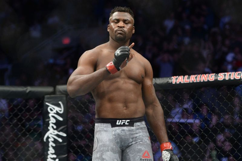 Another brutal win for Francis Ngannou at UFC 249