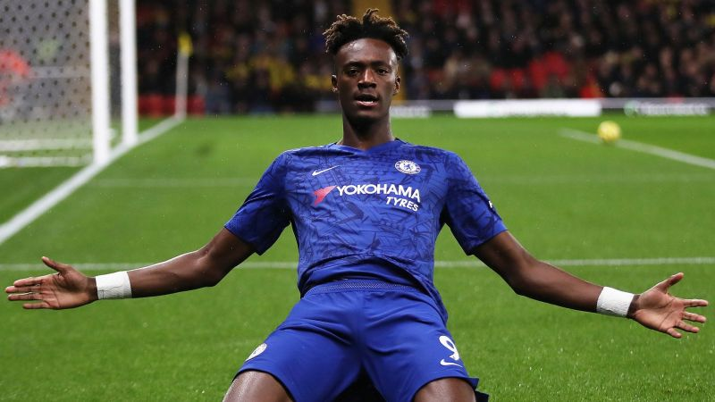 Tammy Abraham has been one of the standout young performers in the Premier League this season.