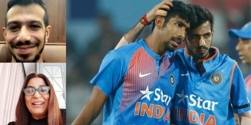 Friendly banter has been exchanged in the recent past between Jasprit Bumrah and Yuzvendra Chahal