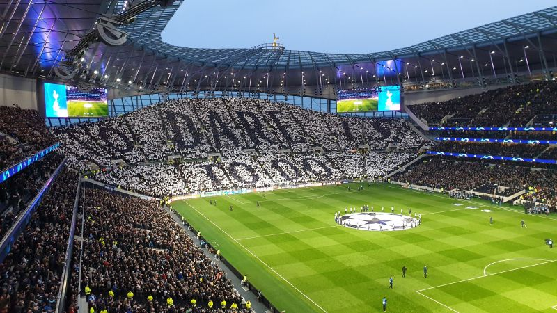 The new Tottenham Hotspur Stadium is heavily financed by loans from big American banks.