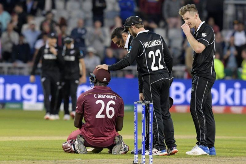 Brathwaite produced his best innings against New Zealand in Manchester