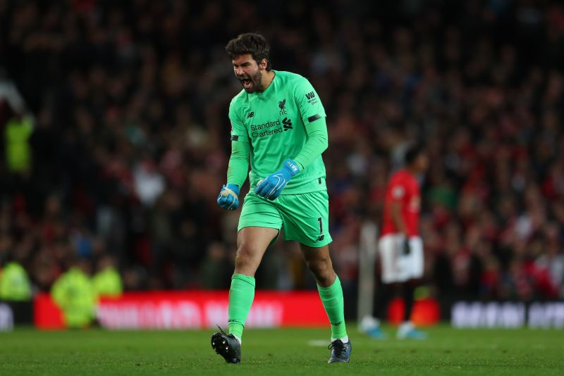 Alisson Becker is widely regarded as the best goalkeeper in the world