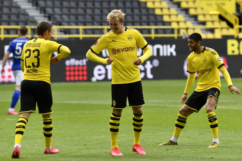 Julian Brandt and Thorgan Hazard were both electrifying in Borussia Dortmund