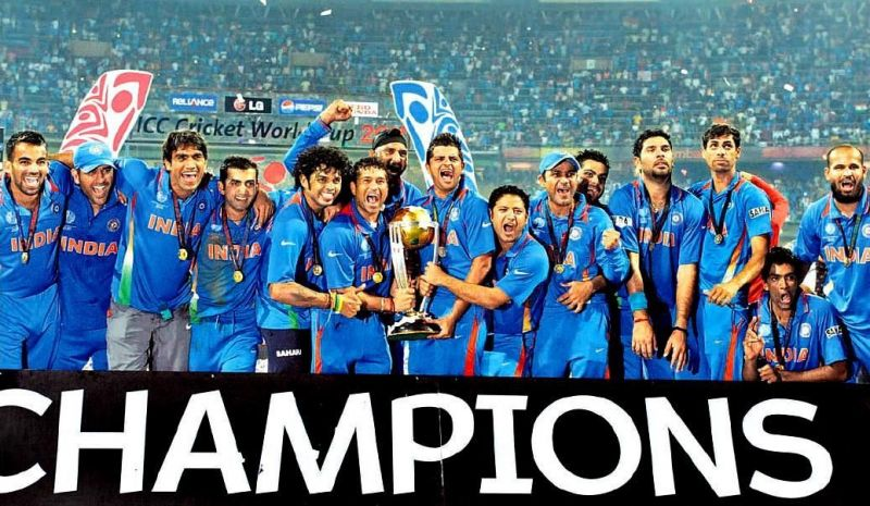 The triumph in the 2011 World Cup helped India climb to the top of the ladder in World Cricket.