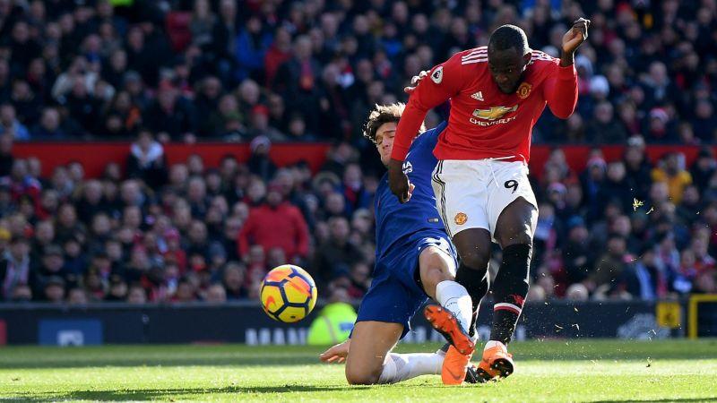 Romelu Lukaku scored 28 Premier League goals for Manchester United.