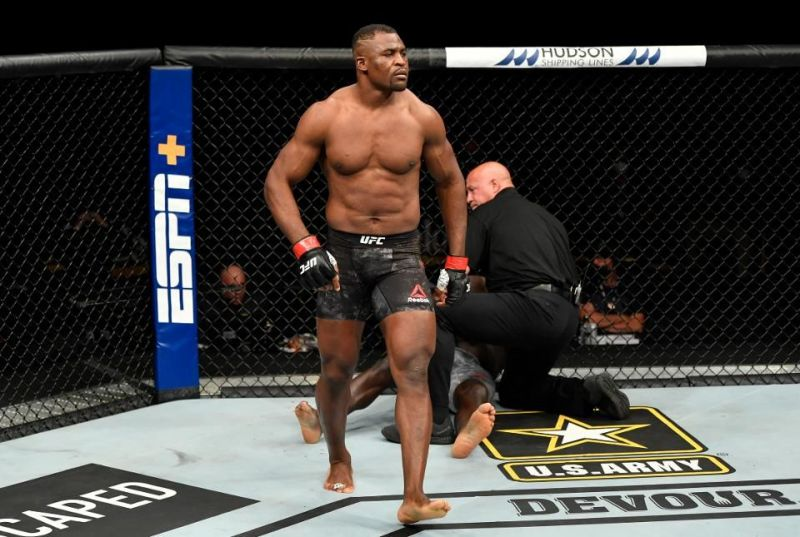 Francis Ngannou should fight for the UFC Heavyweight title next