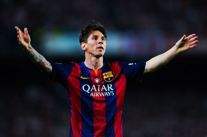 Lionel Messi defied his boss Luis Enrique in the 2014-15 campaign