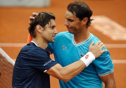 David Ferrer and Rafael Nadal played 32 times against each other on the professional circuit