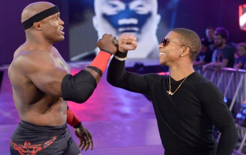 Lio Rush made his RAW debut as Lashley