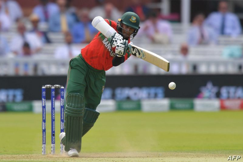 Shakib al Hasan doing what he does best (Picture courtesy AFP)