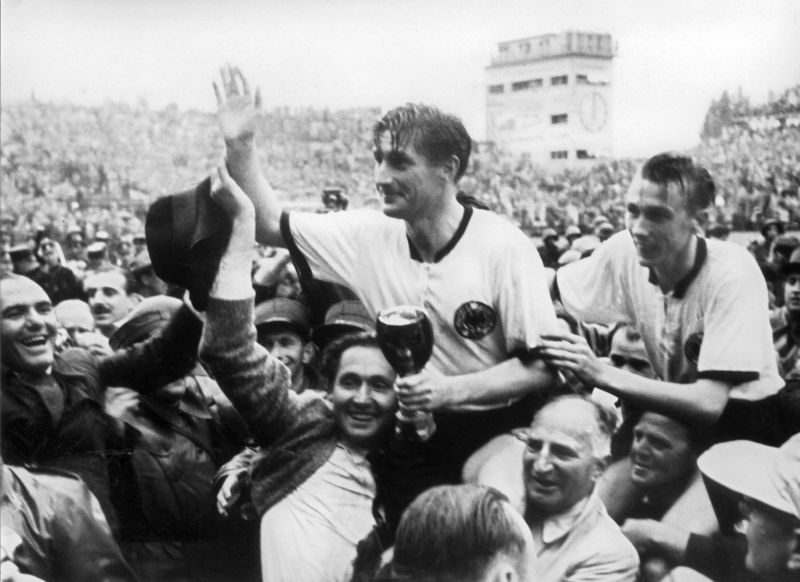 Fritz Walter at the 1954 World Cup. Image Credits: thesefootballtimes.co