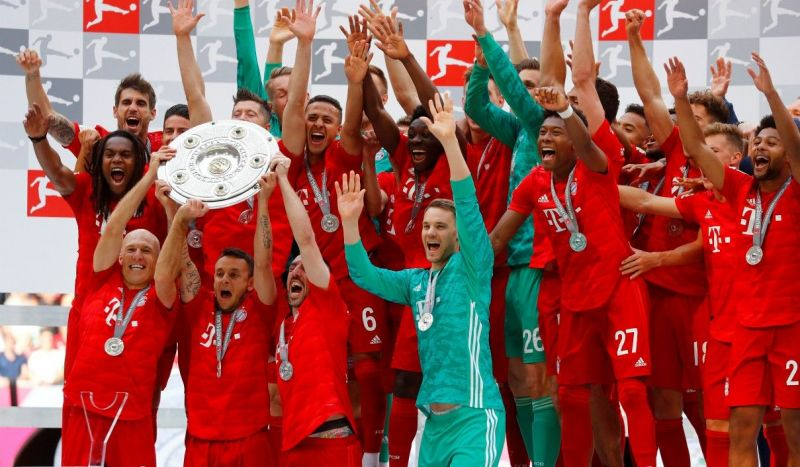 Bayern Munich are the most successful side in Bundesliga history.