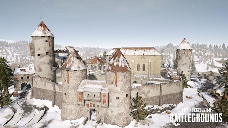 The Castle in Vikendi Map