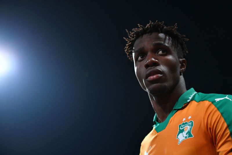 Wilfried Zaha dons the colors of Ivory Coast