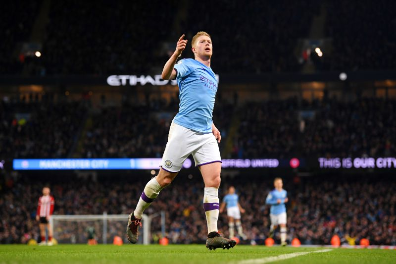 Kevin De Bruyne has become Manchester City