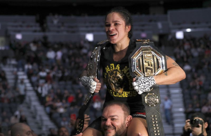 Amanda Nunes defends her featherweight title against Felicia Spencer at UFC 250