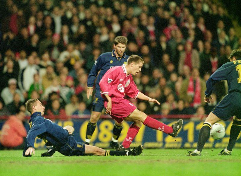 Michael Owen Liverpool debut v Wimbledon May 1997