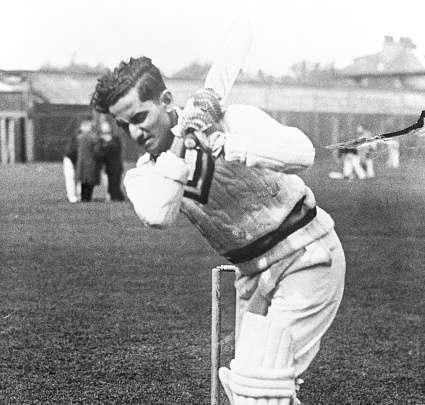 Vijay Hazare scored a magnificent unbeaten hundred in the 1952 Brabourne Test against Pakistan.