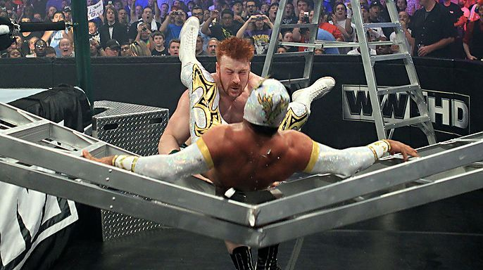 An incredible Money in the Bank ladder match.