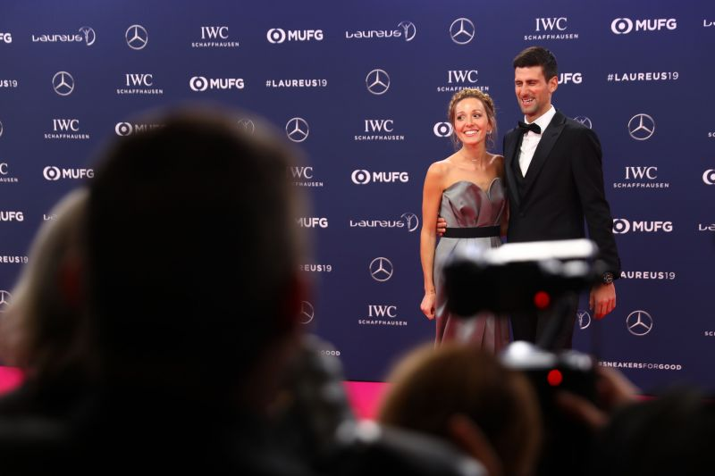 Novak Djokovic is currently in Monte Carlo with his wife and children
