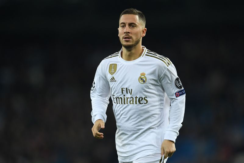 Eden Hazard returns to training with Real Madrid