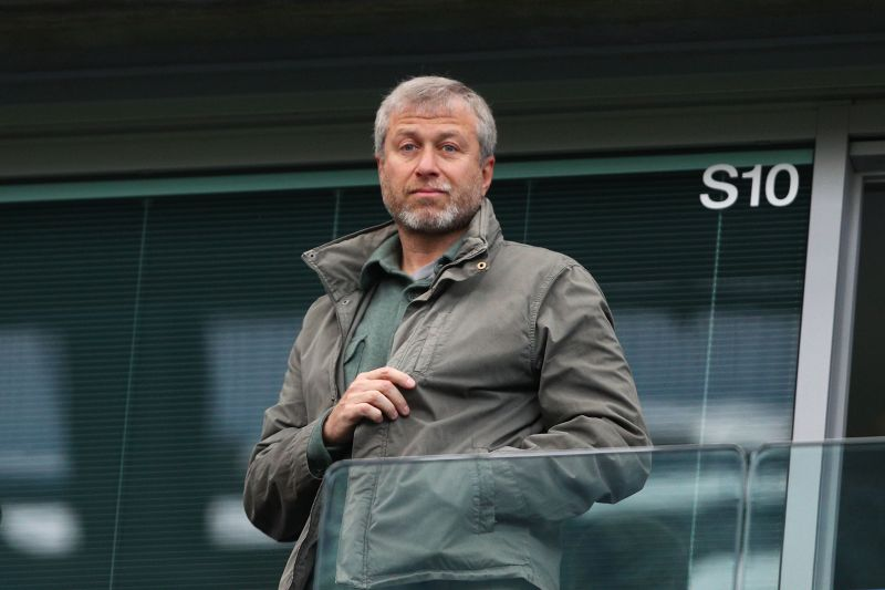 Russian billionaire Roman Abramovich bought Chelsea in June 2003