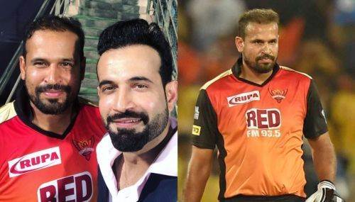 Yusuf Pathan was guided brilliantly by younger brother Irfan Pathan when the former made his debut