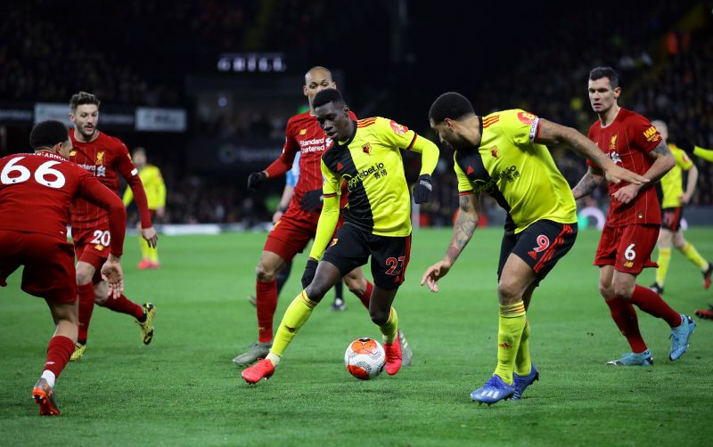 Watford are the only team to beat Liverpool in the Premier League this season