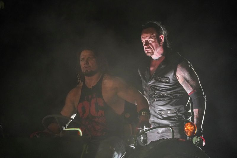The Undertaker and Styles